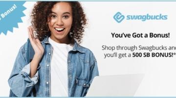 Swagbucks $5 bonus