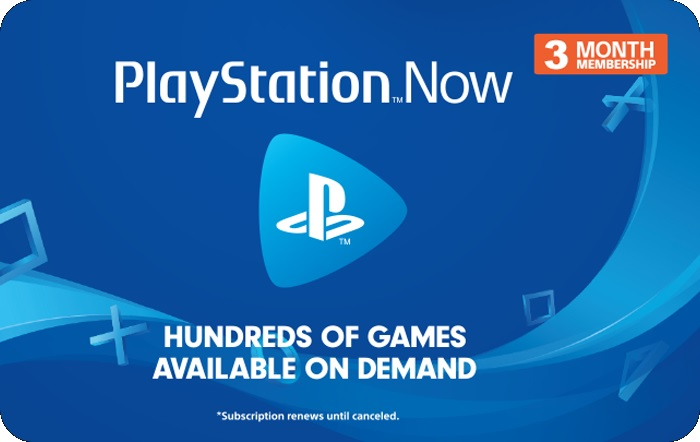 3 Month PlayStation Now Gift Card