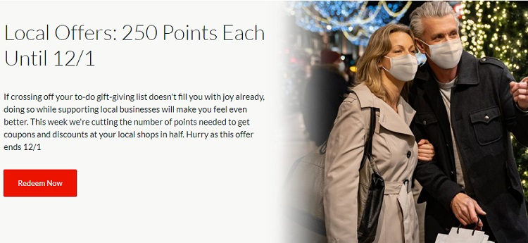 AARP Rewards Local Offers 250 Points