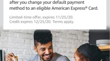 Amazon American Express default card