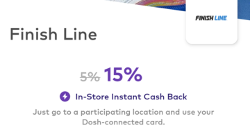 Dosh Finish Line 15%