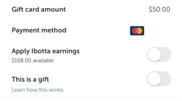 Ibotta Gift Cards Redeem Cashback