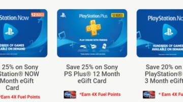 Kroger PS Now PS Plus 11.20.20