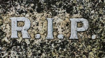 RIP Rest In Peace Gravestone