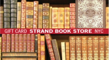 Strand Book Store Gift Card