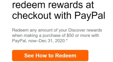 Discover PayPal bonus