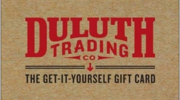 Duluth Trading Co Gift Card