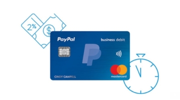 PayPal Business Debit Mastercard 2%