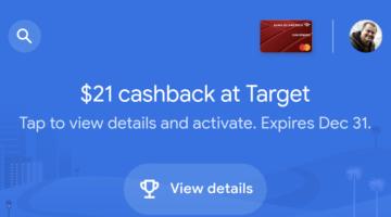 Target Google Pay