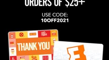 FandangoNOW promo code 10OFF2021