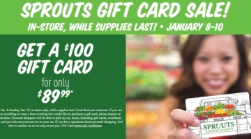 Sprouts promo