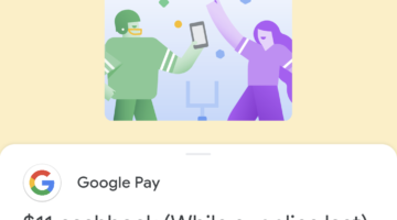 Google Pay referral offer