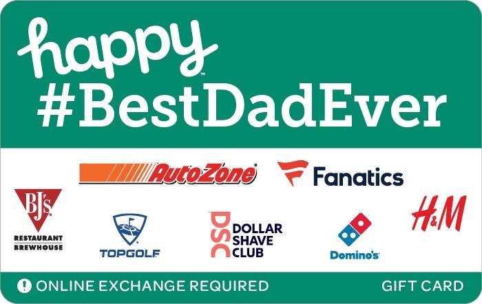 Happy BestDadEver Gift Card