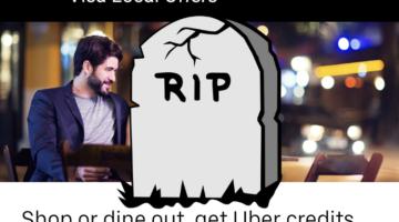 Uber Visa Local Offers Ending