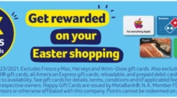 BI-LO Winn-Dixie Harveys Fresco y Mas 6x points 03.17.21