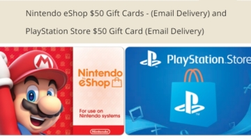 Newegg Nintendo eShop PlayStation Store