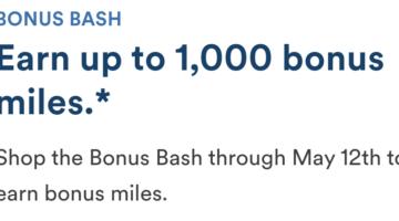 Alaska Airlines Shopping Portal Bonus 05.03.21