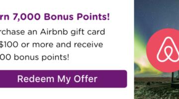Bitmo Airbnb 7,000 bonus Perk Points