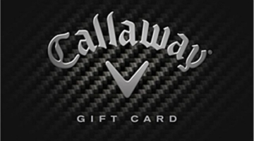 Callaway Gift Card