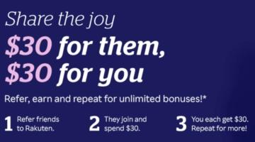 Rakuten Referral Bonus