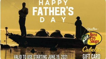Bass Pro Shops Cabela's Father's Day Gift Card