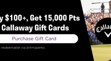 Bitmo Callaway promo code C15KDADJUNE
