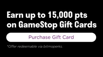 Bitmo GameStop 150x Perk Points
