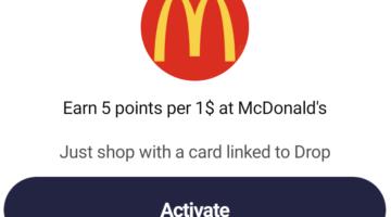 Drop McDonald's