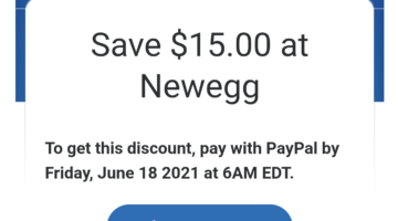 PayPal Newegg