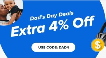 Raise promo code DAD4