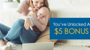 Upromise $5 bonus