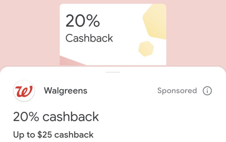 Google Pay Walgreens