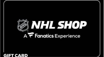 NHL Shop Gift Card