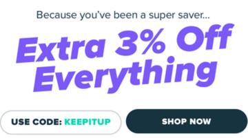 Raise promo code KEEPITUP