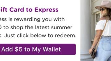 Bitmo Express free $5 gift card