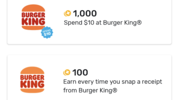 Fetch Rewards Burger King