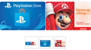 Newegg PlayStation Store Nintendo eShop
