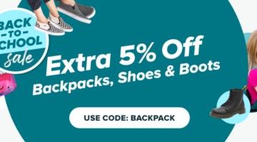 Raise promo code BACKPACK